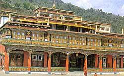 The Rumtek monastery